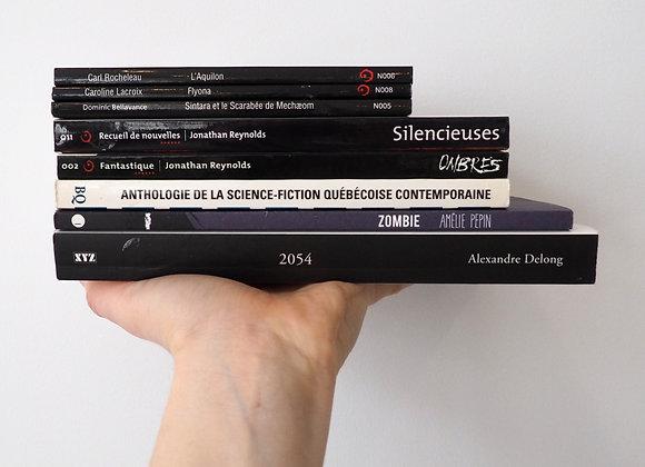 Sélection science - fiction québécoise
