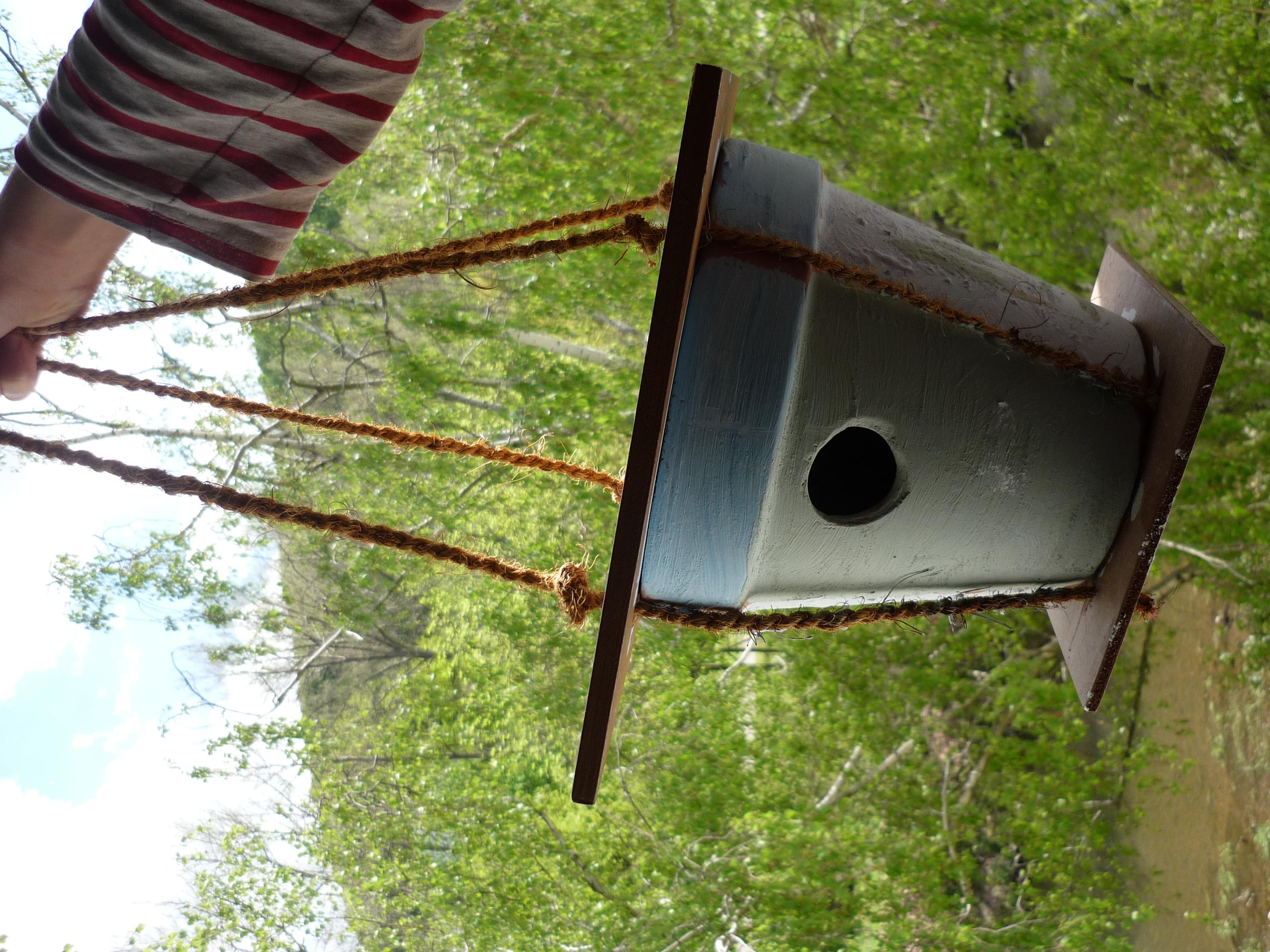 DIY Vogelhäuschen