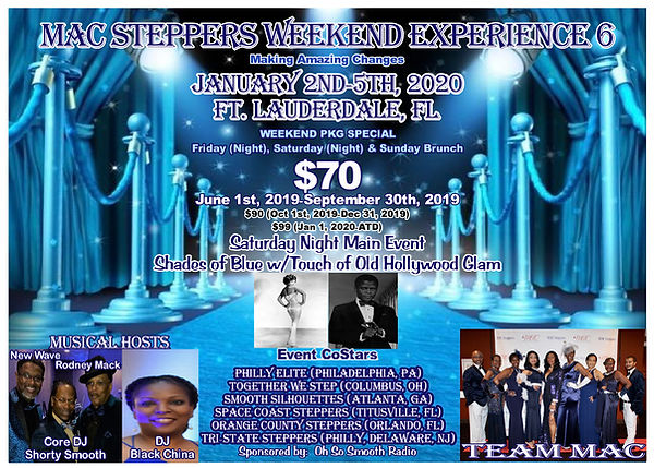 Ft Lauderdale Events January 2020.Mac Weekend Experience Macsteppers