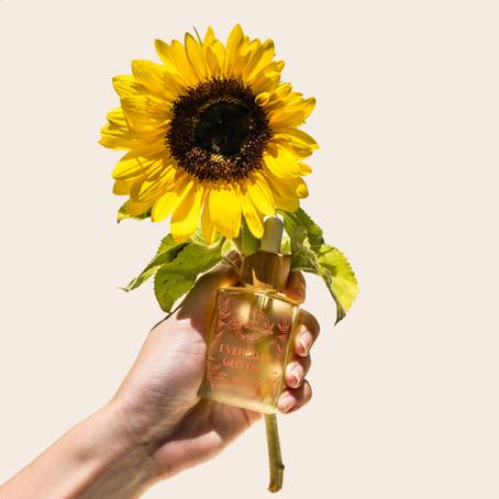 Sunflowers, Your Skin, & Sustainability