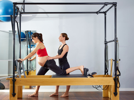 How to exercise safely during and post pregnancy.