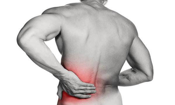 Lower back pain from hip