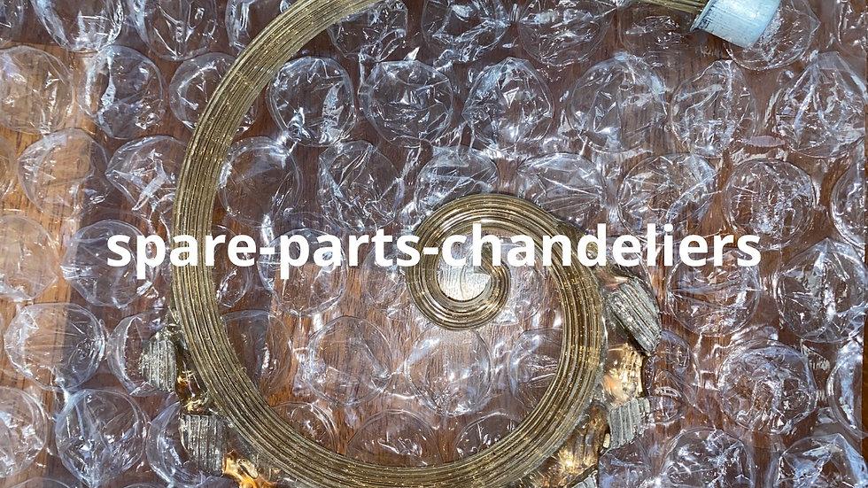 Curl, spare parts in Murano blown glass