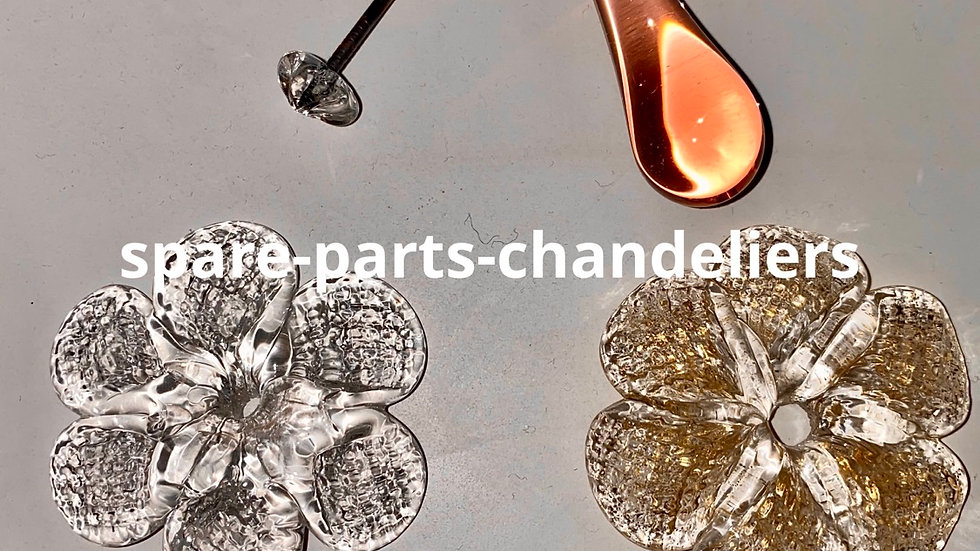 Spare parts for chandeliers and mirrors