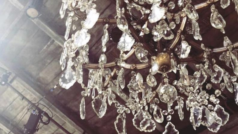 Drops or hanging crystals, spare parts for chandeliers