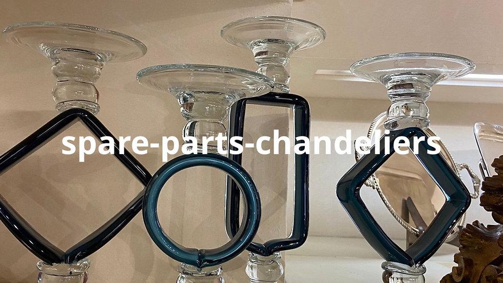 Vase handmade in glass