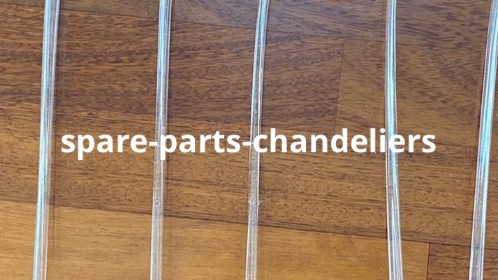 Curls spare parts for chandeliers