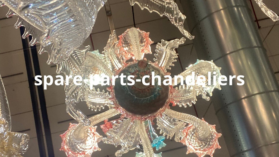 Spare parts for chandeliers
