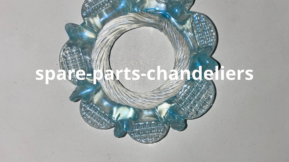Ring for chandeliers in Murano glass