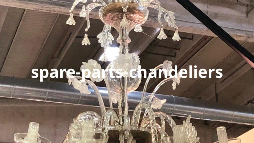 Chandelier in Murano blown glass