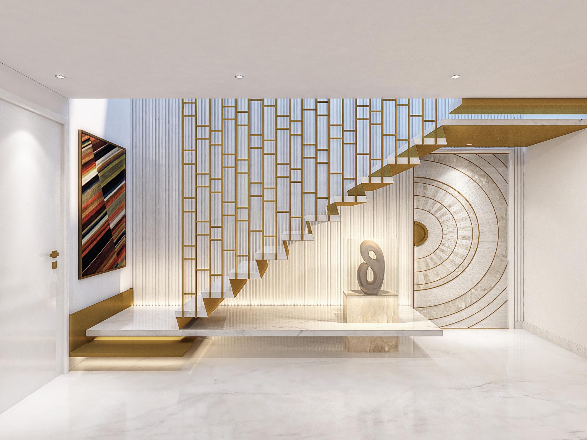 Stilt Stair case