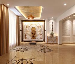 1st Floor Mandir View