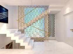 upper ground Stair