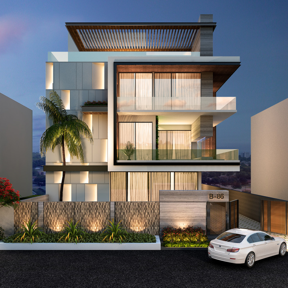 Villa 86 / Noida