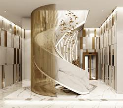 Internal Basement Staircase