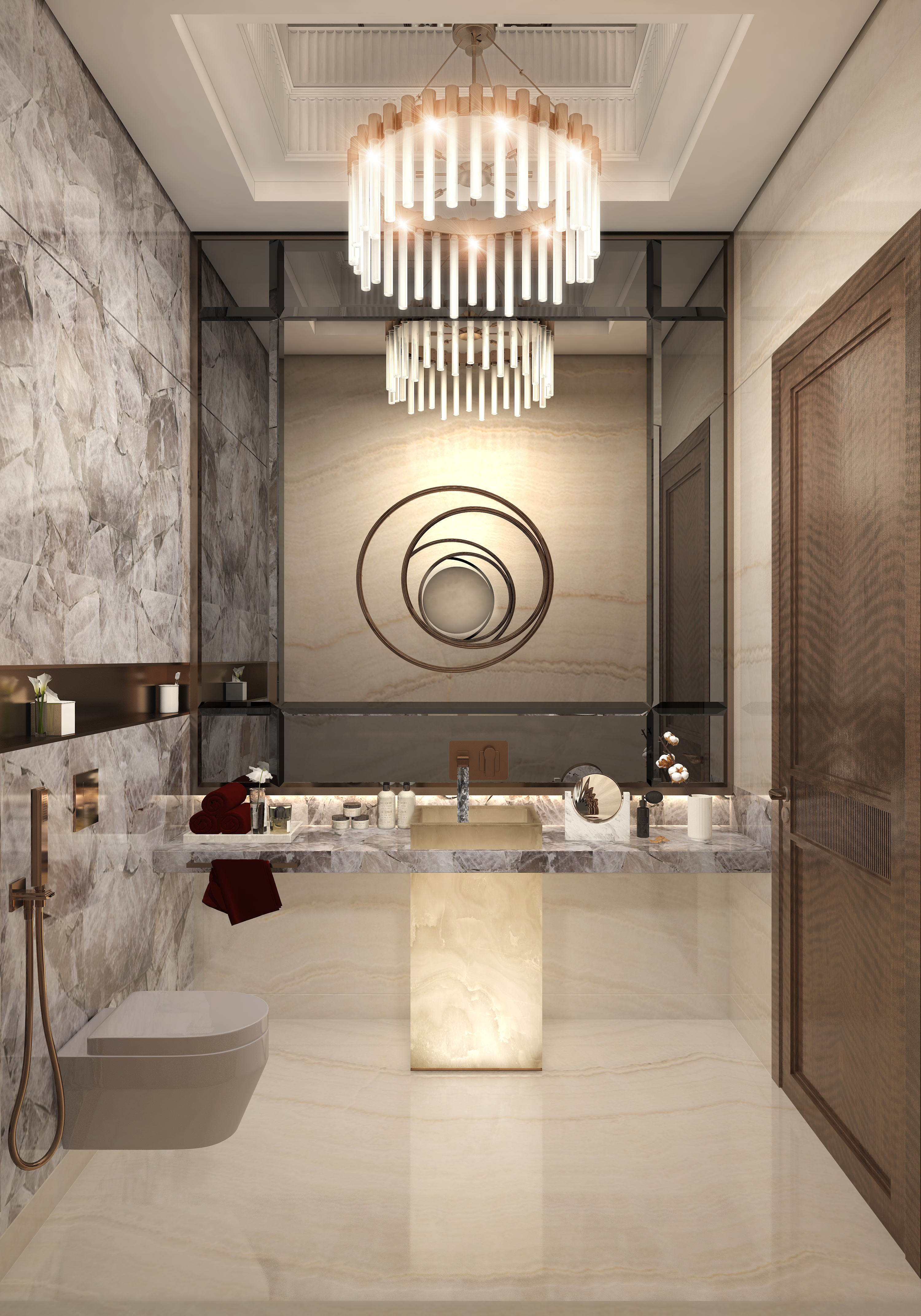 Bikanervala_Powder Bathroom_