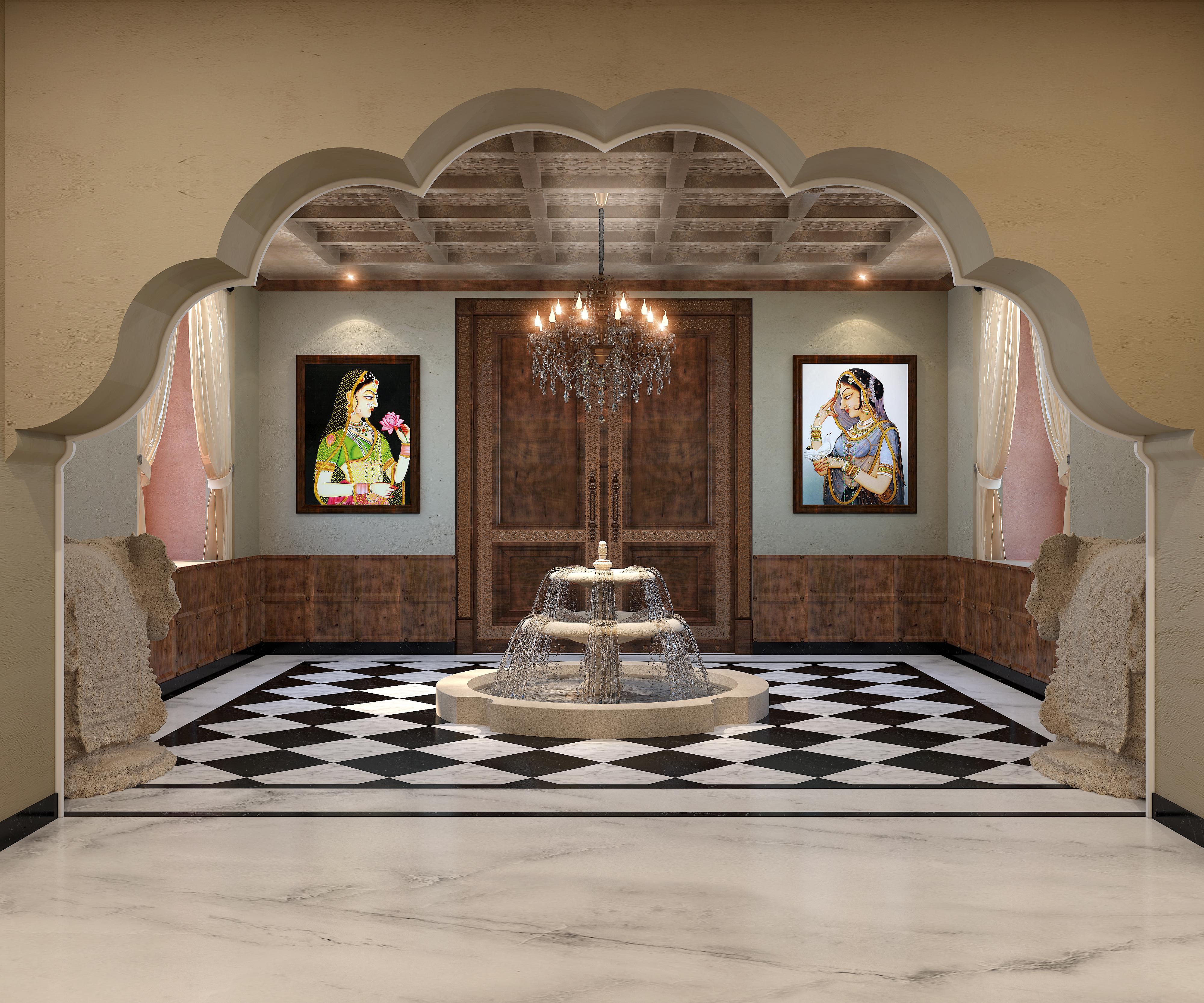 HOTEL KHAJURAHO_Lobby Area