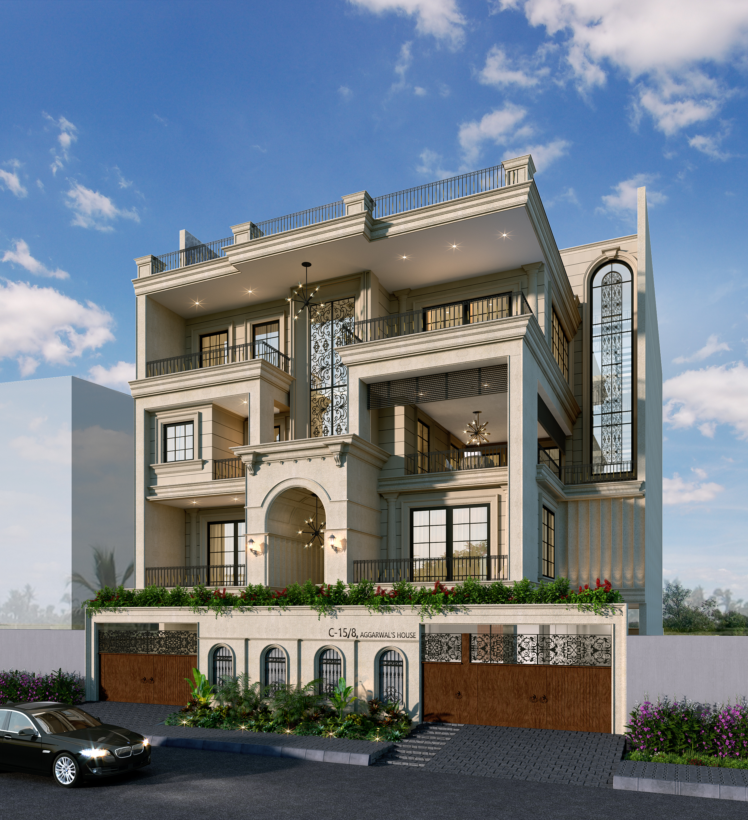 Dlf Phase 1 Facade Cam 1 New