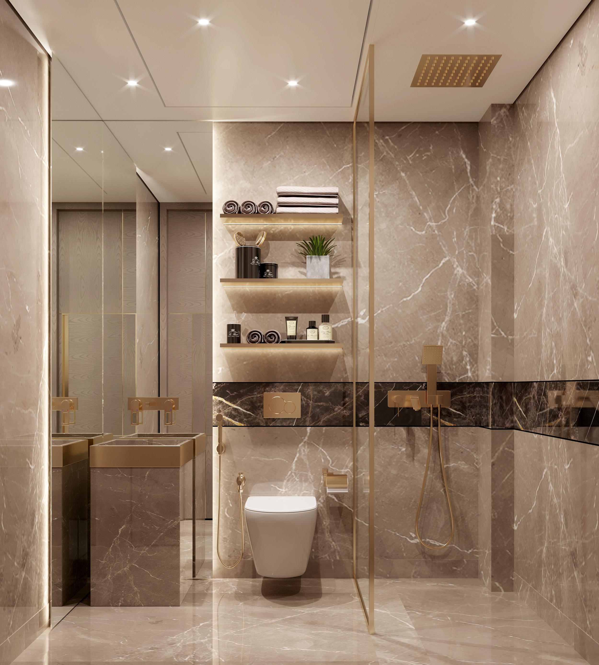 UG Bathroom view