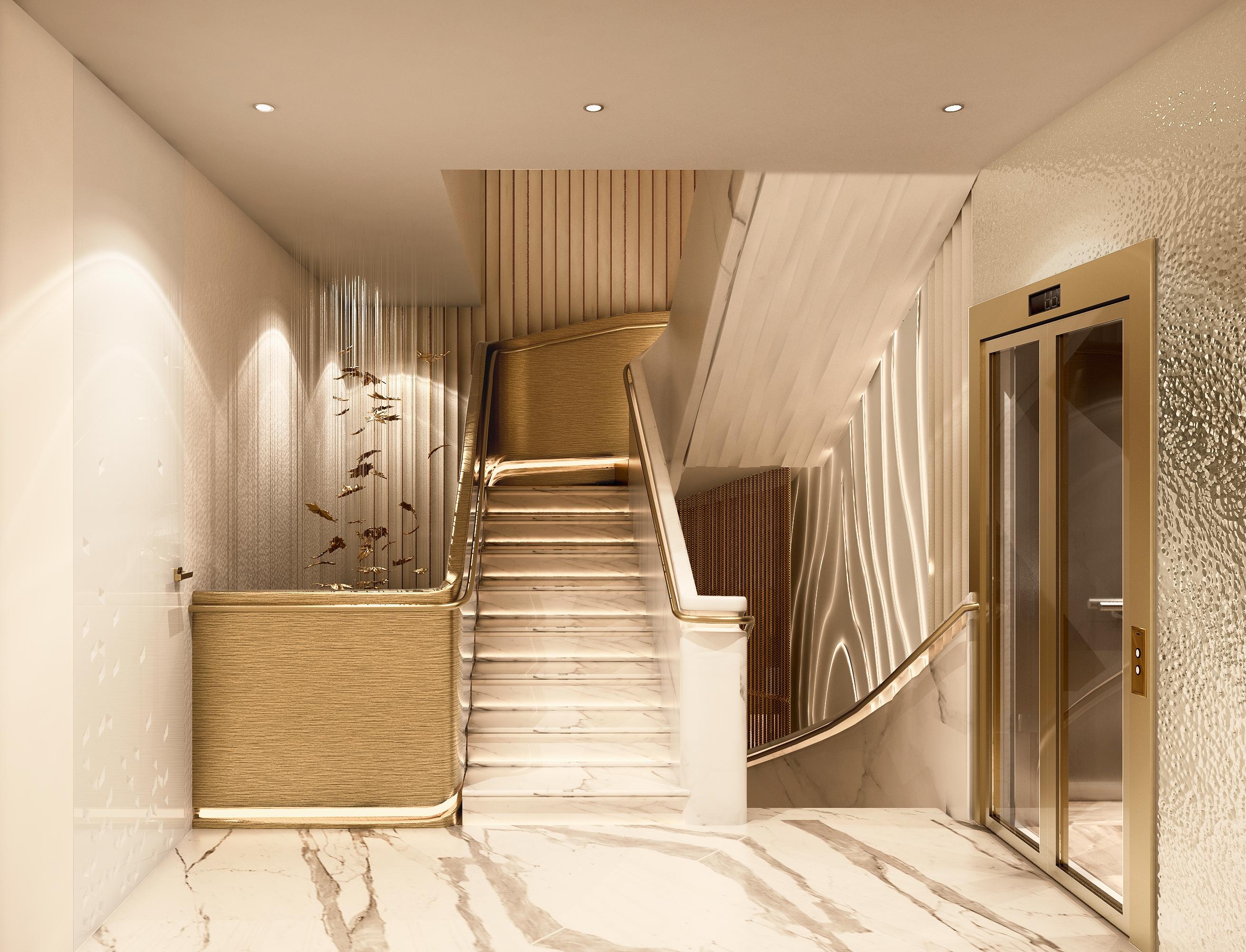 Internal Stilt Staircase