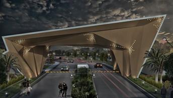 NRI City Entrance