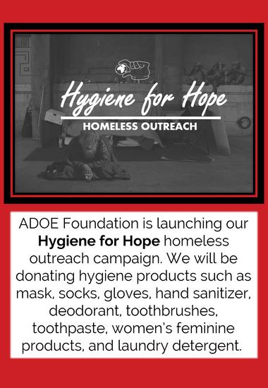 Hygeine For Hope