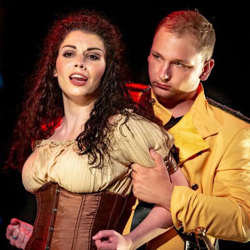 """Carmen in """"The Tragedy of Carmen"""""""