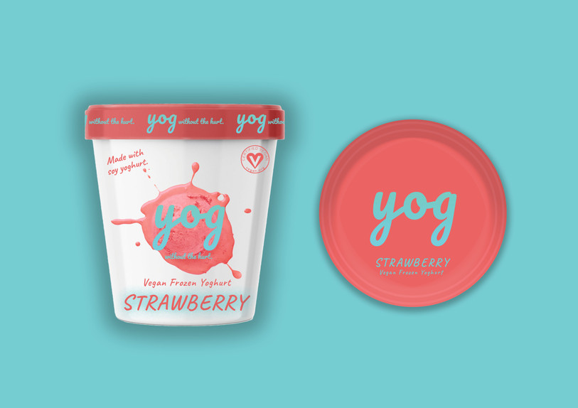 Strawberry Yog
