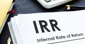 Calculating The Internal Rate of Return On Your Investment