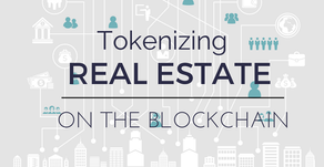 Tokenizing Real Estate on the Blockchain.