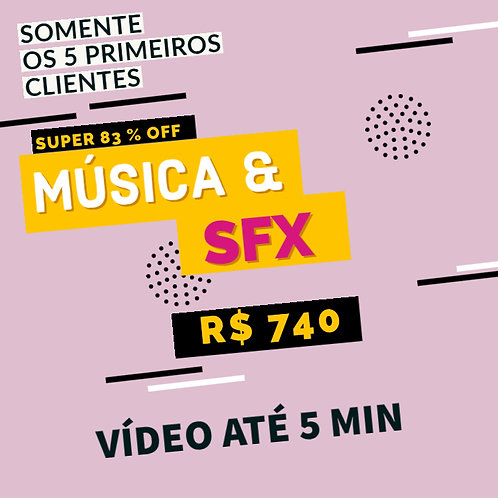 Música Original e Sound Design