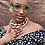 Thumbnail: Crystal Embellished Clear Lens Glasses