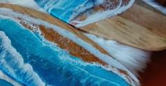 Surf Board Sea Platters by Olga Sem