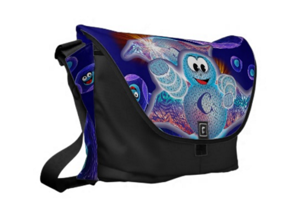 Super Cellular Messenger Bag