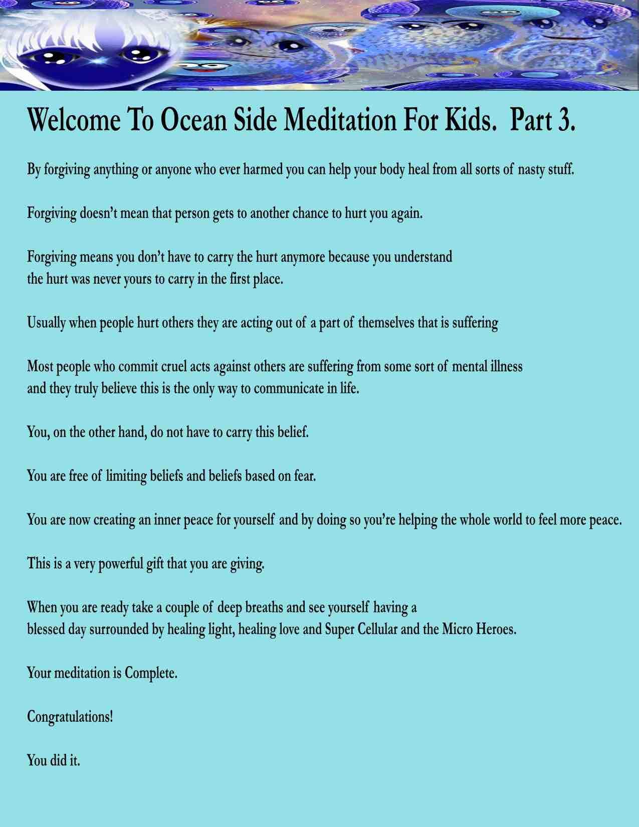 OCEAN Meditation part 3