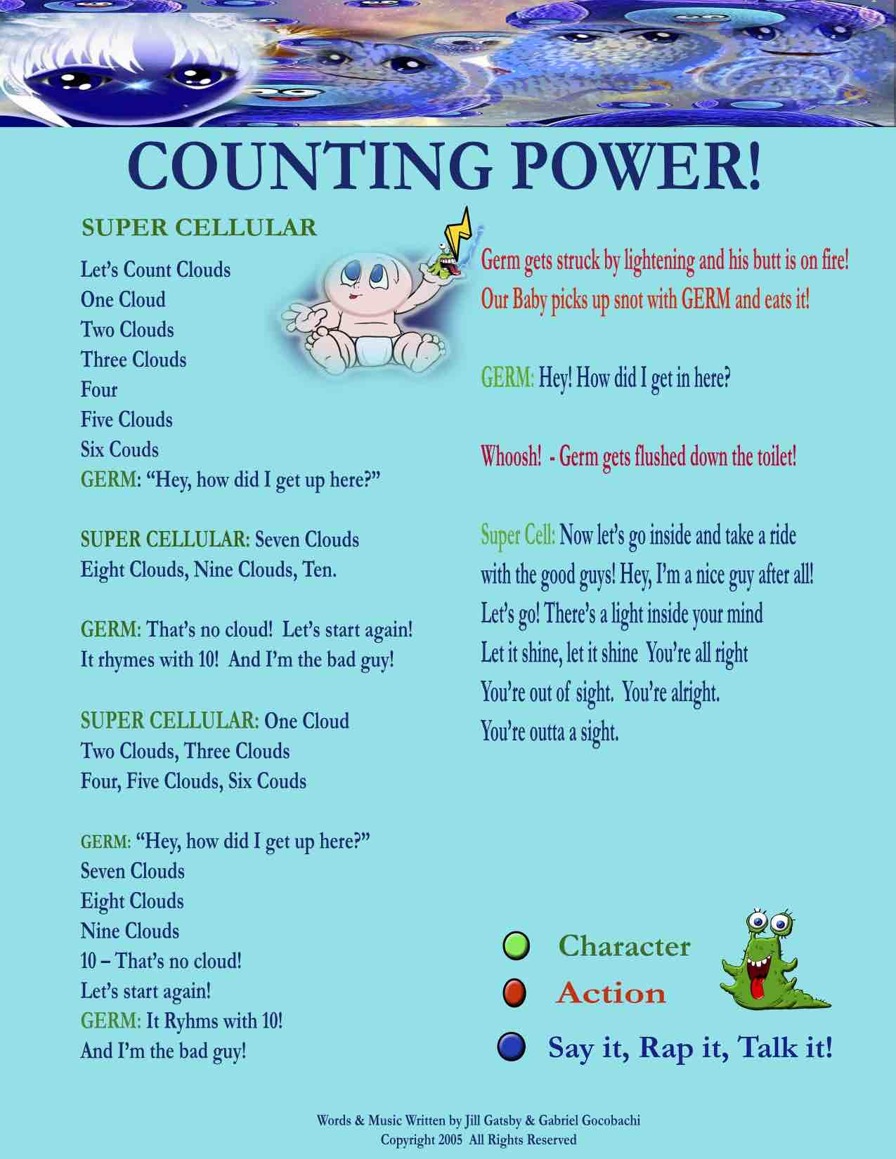 COUNTING POWER MENU