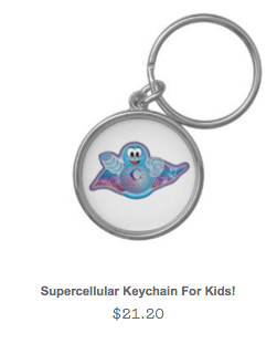 Super Cellular Keychain for Kids!