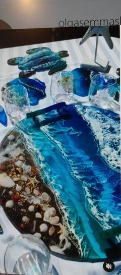 Olga Sem's Turtle Ocean Platters
