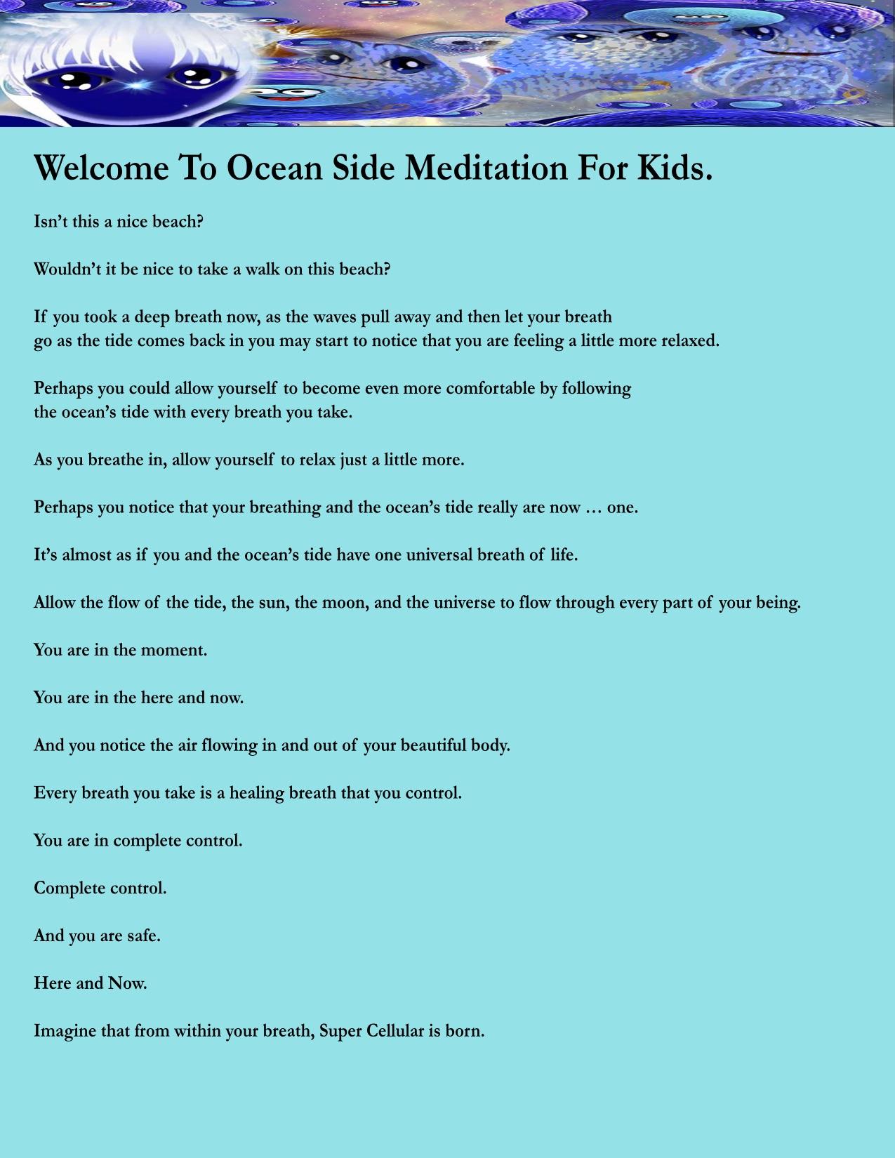 OCEAN Meditation Part 1