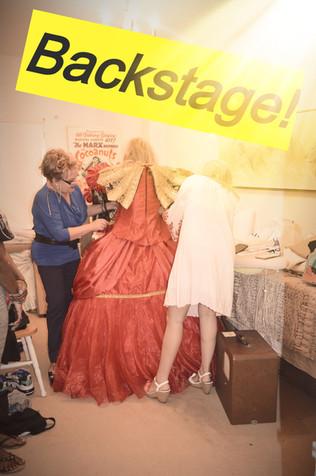 Marx Brothers Room Backstage with Olga Sem!