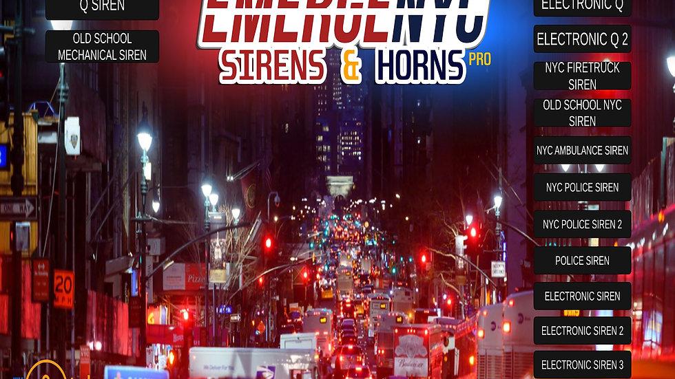 EmergeNYC Sirens & Horns Pro - PC/Mac