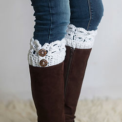 Boot Cuffs, handmade, crochet, ladies, knits n knacks