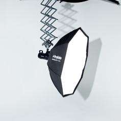 Profoto lights included in rental