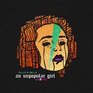 "Rebel Kicks - ""Life + Times of an Unpopular Girl"" Single Artwork"