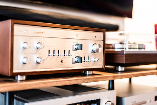 Luxman Vacuum Tube Integrated Amplifier LX-380