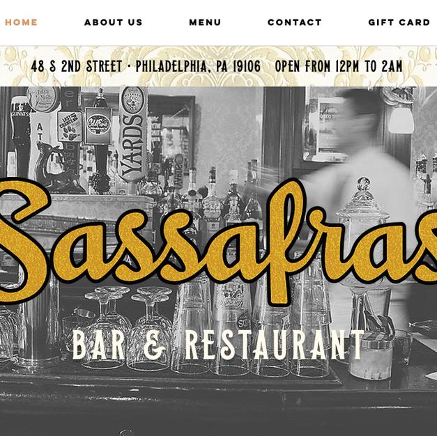Sassafras Bar - Philadelphia, PA