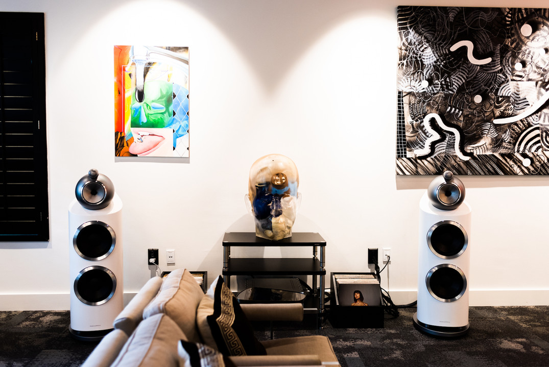 Bowers & Wilkins 800 Speakers  Dan D'Agostino Master Audio Systems Progression Integrated