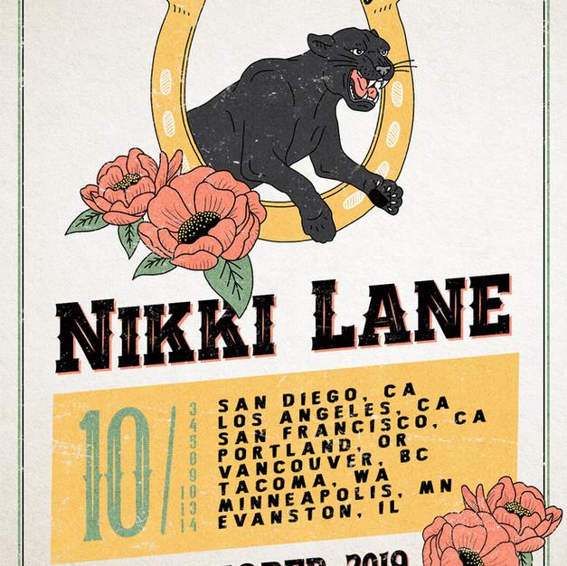 Nikki Lane - Show Poster