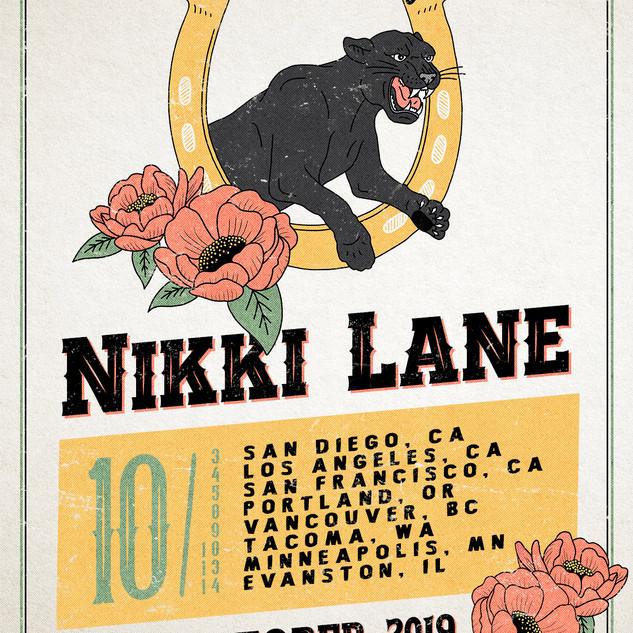 Nikki Lane - Tour Poster