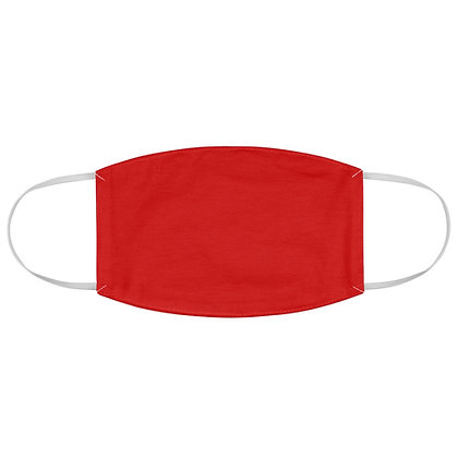 Plain Red Face Mask